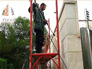 Servicios de limpieza y mantenimiento de fachadas