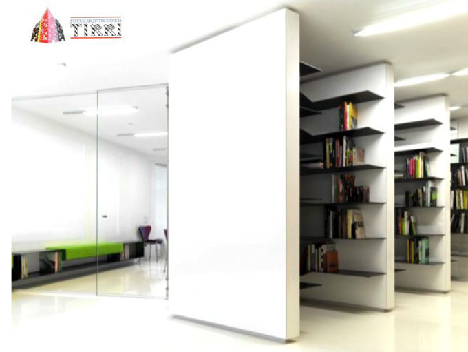Ejemplo de aplicación de microcemento en paredes y en estanterías en Tarragona