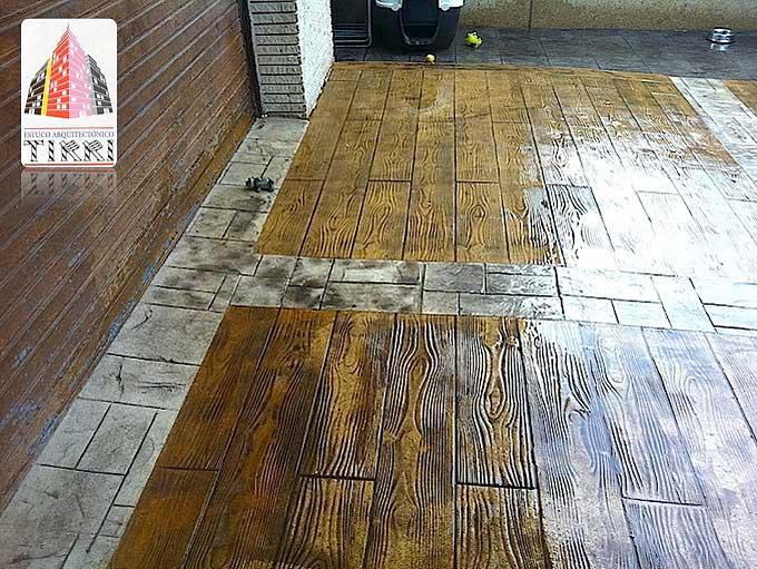 Suelos de pavimento Impreso en Reus (Tarragona)