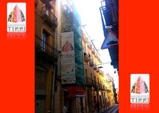 Ejemplo de andamios montado por Tirri en Tarragona