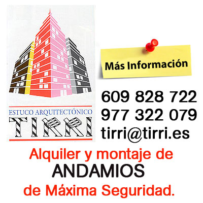 Alquiler y Montaje Andamios en Tarragona y Reus